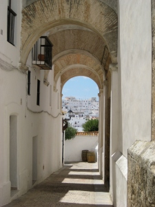 Heading into the juderia, the Jewish area - Vejer