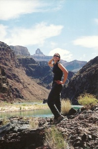 Grand Canyon - Goddess pose