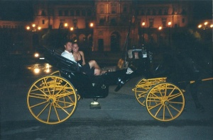 Spain - Carriage ride in Sevilla